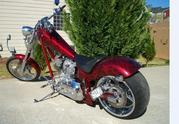 2006 American IronHorse Texas Chopper, 1175 Miles...